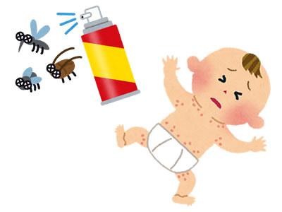 【赤ちゃん虫よけスプレー】生後0ヶ月の新生児からOK~おすすめ天然ディートフリー虫除け