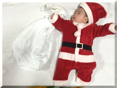 【クリスマス会の子供服】しまむら・100均どっちで買う?サンタ衣装まとめ