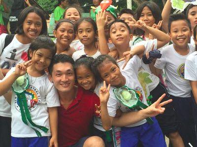 フィリピンで活動の日本人青年海外協力隊