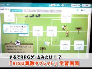 RISUタブレットは楽しいゲーム感覚勉強