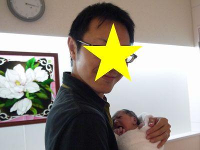 立ち会い出産~産後パパもすぐに抱っこ