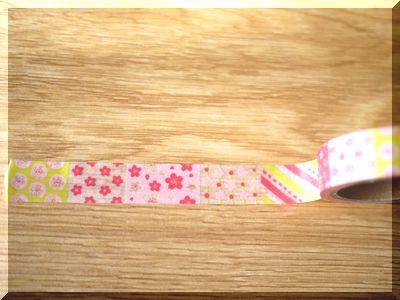 セリアの桜柄マスキングテープが100円で可愛い