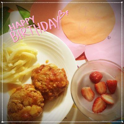 子供が作る誕生日の簡単メニュー