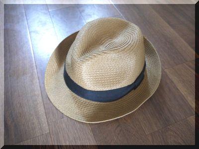 しまむら500円麦わら帽子が活躍中