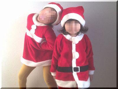 しまむら子供用サンタ衣装の品番と価格