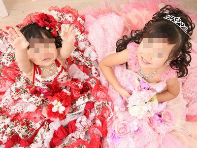 子供の記念撮影は年賀状にも使える