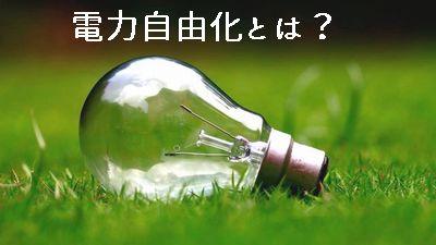 電力自由化どこの会社がお得