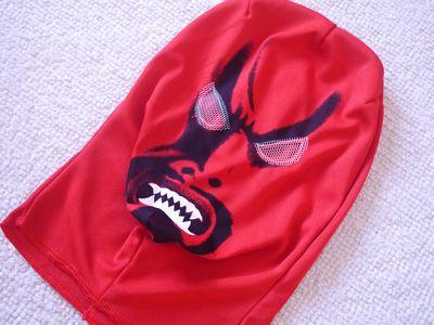 節分の鬼コスプレ大人用のお面マスク